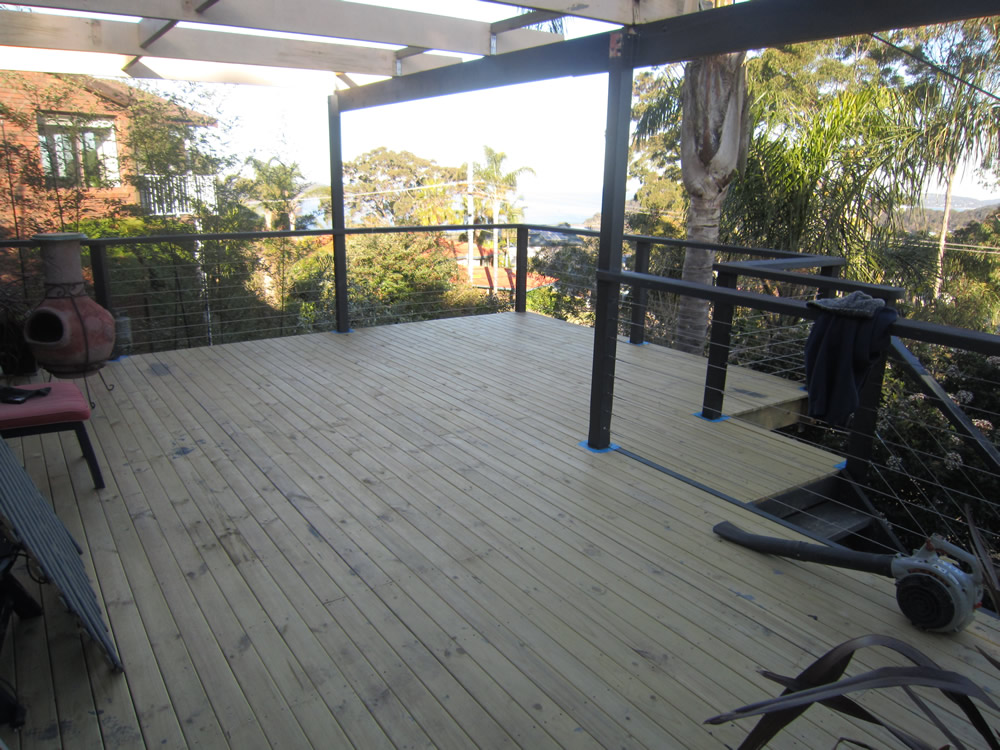 Plastic decks are lighter and have altogether different features from wood decks